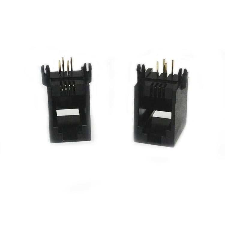 R-5544 4P4C Konnektör - 90C / 90 Derece