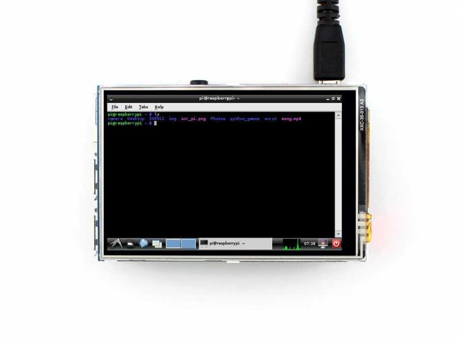 Raspberry Pi 3.5 Inch Lcd Ekran (A) 320×480