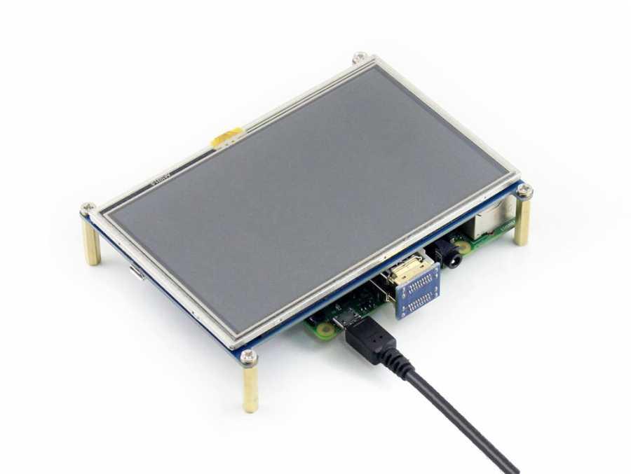 Raspberry Pi 5 Inch HDMI Lcd Ekran 800×480