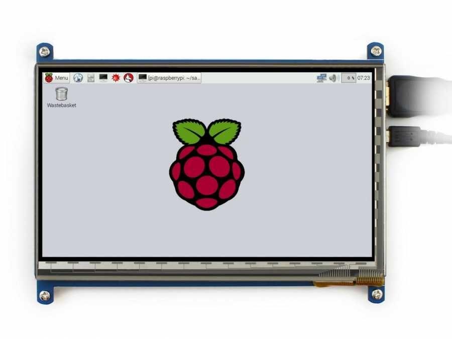 Raspberry 7 Inch HDMI Lcd C Ekran 1024×600 IPS Geniş Platform Desteği