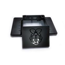 Orjinal Raspberry Pi 3 Muhafazası - Kutusu (7 inç Orjinal Ekran Kasası) Siyah - Thumbnail
