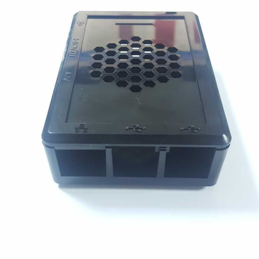Raspberry Pi 3 DRN315 Siyah Kutu