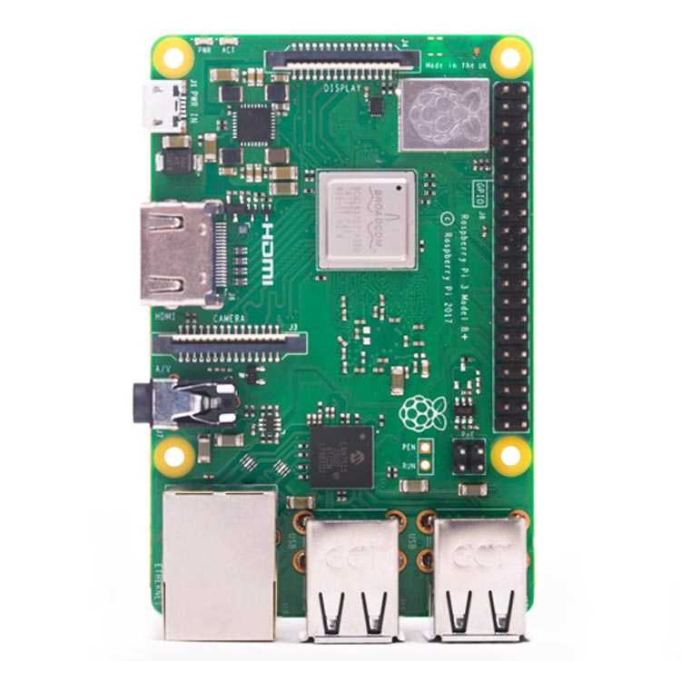 Yeni Raspberry Pi 3 Model B+ Plus