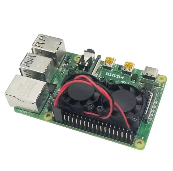 Raspberry Pi 4 Fan Seti - Model B / B+ Uyumlu