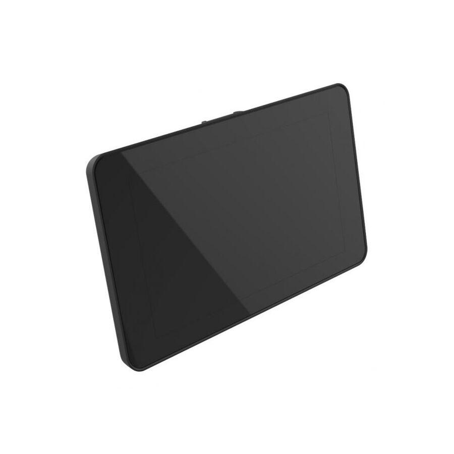 Raspberry Pi 4 Uyumlu Dokunmatik Ekran Kasası - Siyah