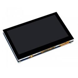 Raspberry Pi 4.3 inç Kapasitif Dokunmatik Ekran DSI Arayüz 800×480 - Thumbnail