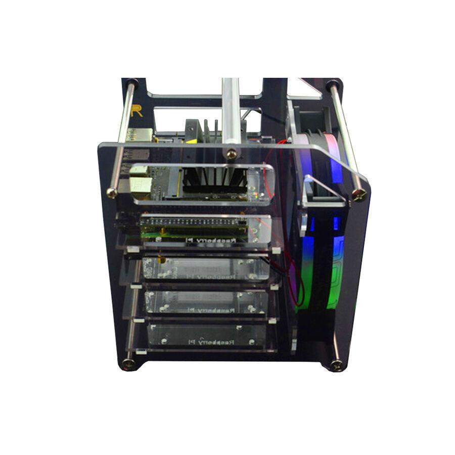 Raspberry Pi 4B / 3B ve Jetson Nano Rack Tower