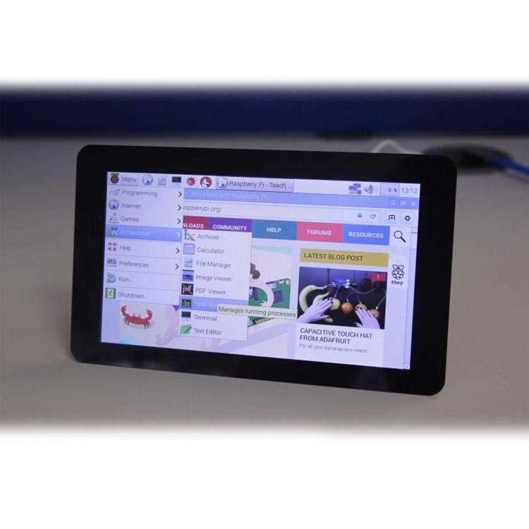 Raspberry Pi 7 Inch Dokunmatik Ekran (Orjinal)