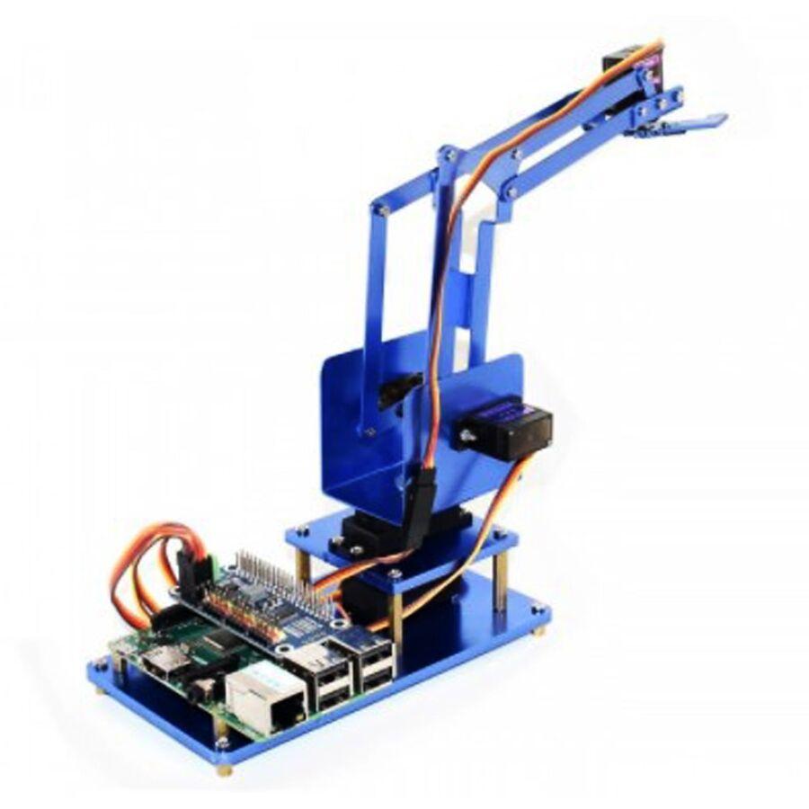 Raspberry Pi Bluetooth/Wifi 4 DOF Metal Robot Kol Kiti