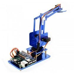 Raspberry Pi Bluetooth/Wifi 4 DOF Metal Robot Kol Kiti - Thumbnail
