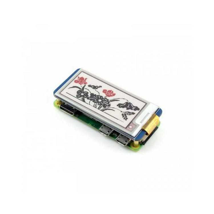 Raspberry Pi 212x104 Çözünürlüklü 2.13 inç Üç Renkli Mürekkep Ekran (B)