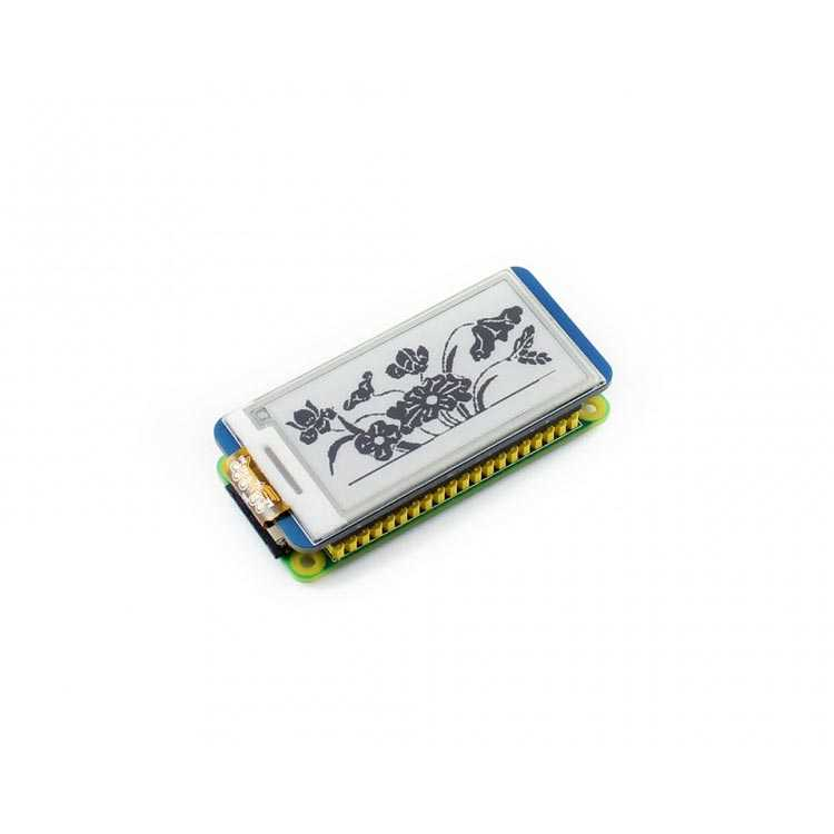 Raspberry Pi 250x122 Çözünürlüklü 2.13 inç Mürekkep Ekran - Waveshare