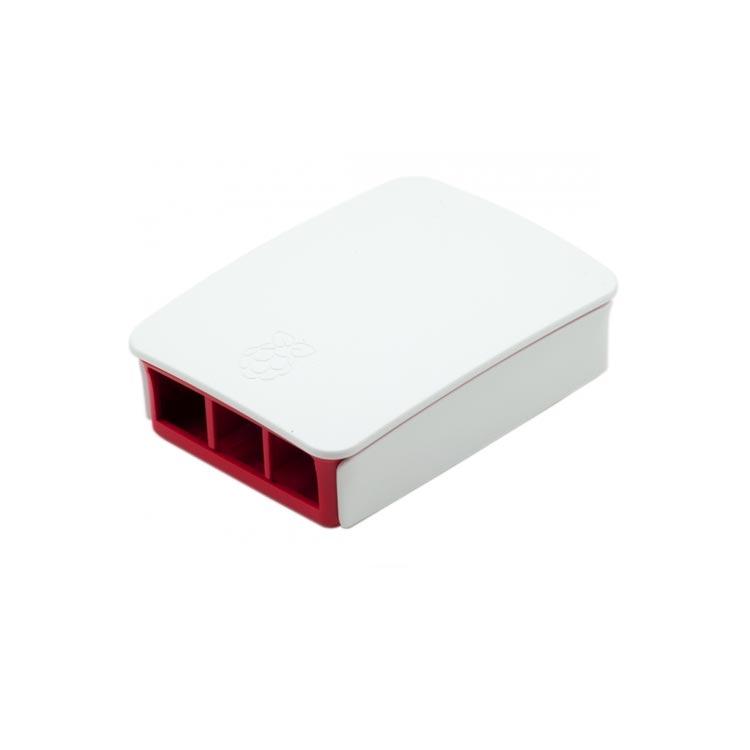 Raspberry Pi Orjinal Kutu / Kırmızı-Beyaz