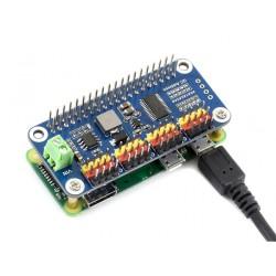 Raspberry Pi Servo Motor Sürücü Kartı - 16 Kanal - 12 Bit - WaveShare - Thumbnail