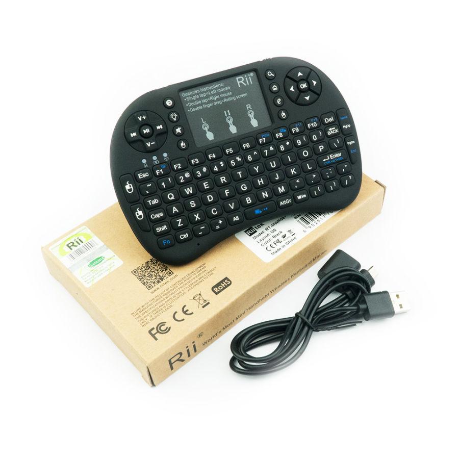 Raspberry Pi Uyumlu Kablosuz Mini Klavye + Mouse Özellikleri+ 3 ve 4 Uyumlu