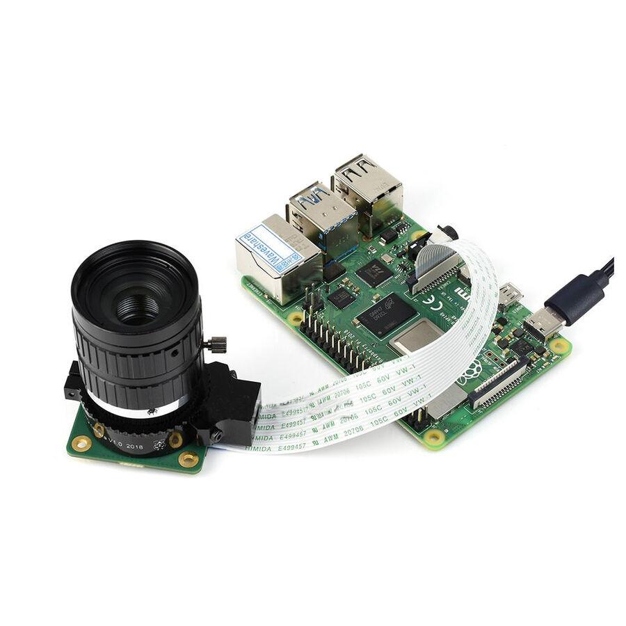 Raspberry Pi Yüksek Kalite Kamera 25mm Telefoto Lens