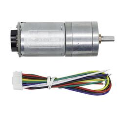 6V 100RPM Enkoderli Metal Redüktörlü DC Motor - Thumbnail