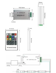 RF RGB Led Kontrol Kartı - Thumbnail