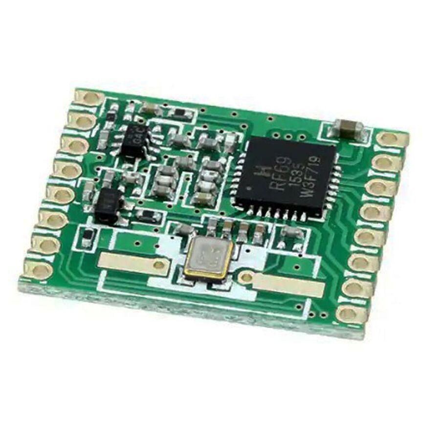 RFM69HCW-433S2 433 Mhz Smd RF Alıcı-Verici Modülü