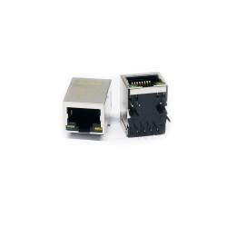 RJ45 Led + Bobinli Hanrun Ethernet Konnektörü - HR911105A - Thumbnail