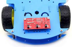 ROBOMOD Bluetooth Kontrollü Arduino Araba - Mavi (Montajı Yapılmış) - Thumbnail