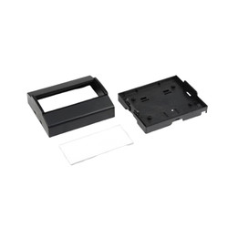 RT-506 Ray Tipi Kutu Siyah 105 x 91 x 45mm - Butonsuz - Thumbnail