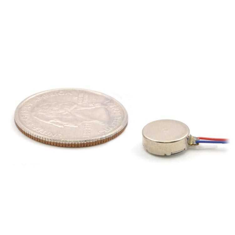 Şaftsız Mini Titreşim Motoru 10x3.4mm