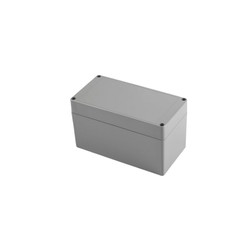 SE-056 IP-67 ABS Contalı Gri Kutu 175 x 90 x 100mm - Thumbnail