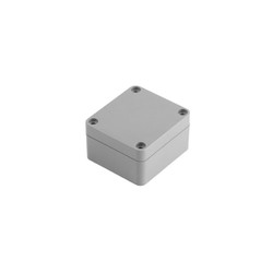 SE-204 IP-67 ABS Contalı Gri Kutu 64 x 58 x 35mm - Thumbnail