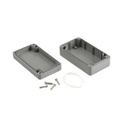 SE-210 IP-67 ABS Contalı Gri Kutu 115 x 65 x 40mm - Thumbnail