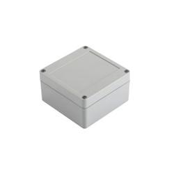SE-218 IP-67 ABS Contalı Gri Kutu 100 x 100 x 55mm - Thumbnail