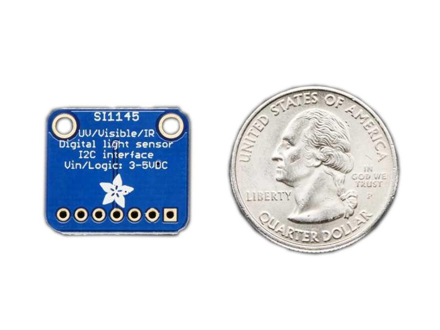 SI1145 Dijital UV İndeksi / IR / Görünür Işık Sensörü