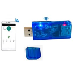 Sinilink Wifi-Usb Cep Telefonu Uzaktan Kumanda Modülü 3.5-20V 5A 100W - Thumbnail