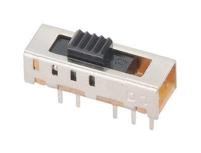 Slide Switch 2P4T 30VDC 180C