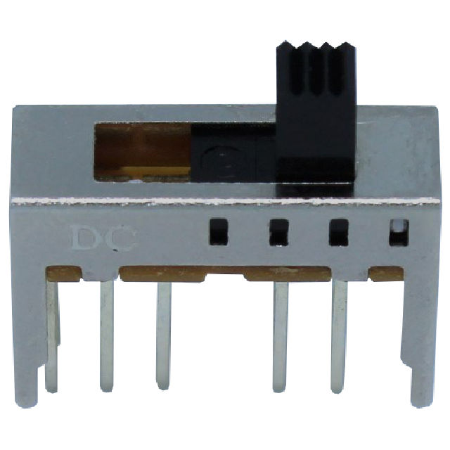 Slide Switch 2P4T 18x6MM / 300mA 50VDC