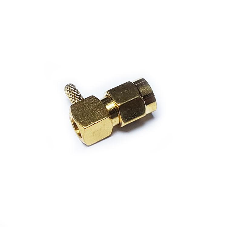 SMA 90C 1.5mm Kablo Tipi Erkek Konnektör (SA1N9N0G-1)