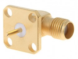 Sma Panel Tipi 90C Dişi Konnektör (SA0N9F0S) - Thumbnail
