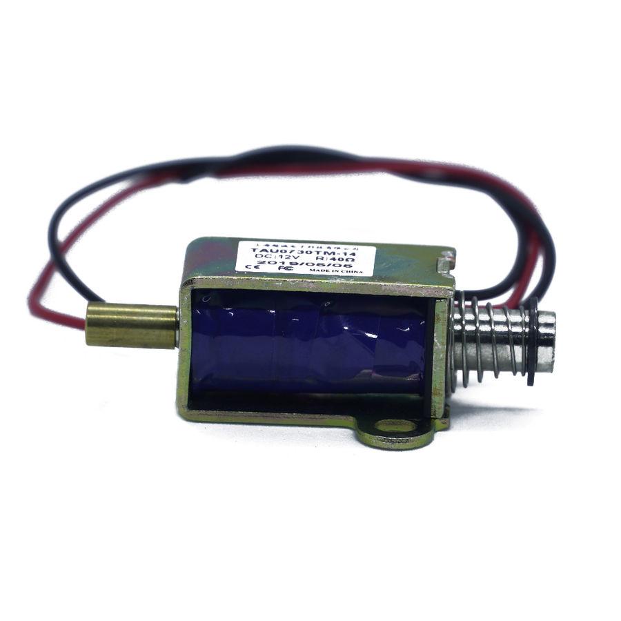 Küçük Push Pull Solenoid - 12VDC