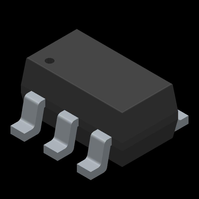 SN74LVC1G00DBVR Sot23 - Logic Kapı Entegresi
