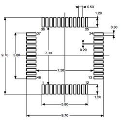 STM32F103C8T6 Smd 32-Bit 72MHz Mikrodenetleyici LQFP-48 - Thumbnail