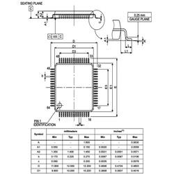 STM32F401RCT6 32Bit 84MHz Mikrodenetleyici LQFP64 - Thumbnail