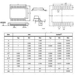 STM8S103F3P6 Smd 8-Bit 16MHz Mikrodenetleyici Tssop-20 - Thumbnail