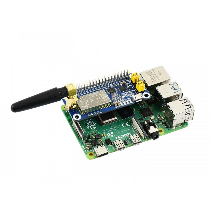 Raspberry Pi için SX1268 LoRa HAT, 433 MHz