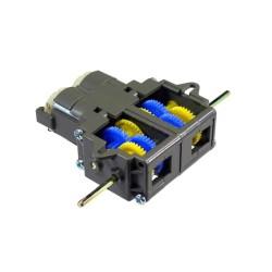 Tamiya 70168 Double Gearbox Kit - Çift DC Motorlu Dişli Kutusu - Thumbnail