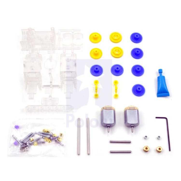 Tamiya 70168 Double Gearbox Kit - Çift DC Motorlu Dişli Kutusu