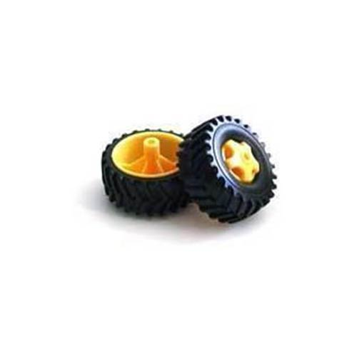 Tamiya Kamyon Tipi Tekerlek Seti - 4 Adet - Pololu - 65