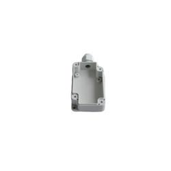 TB-204 Tek Rakorlu Gövdesi Plastik IP-67 Gri Kutu 80 x 50 x 25mm - Thumbnail