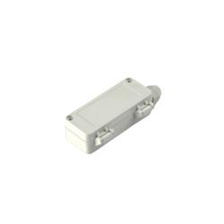 TB-240 Tek Rakorlu Gövdesi Plastik IP-67 Gri Kutu 100 x 40 x 30mm - Thumbnail