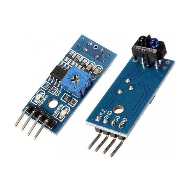 TCRT5000 Kızılötesi Yansıma Sensör Modülü - Optik Sensör Kartı