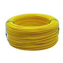 Tek Damarlı Montaj Kablosu 0.5mm 100 Metre Sarı - Thumbnail